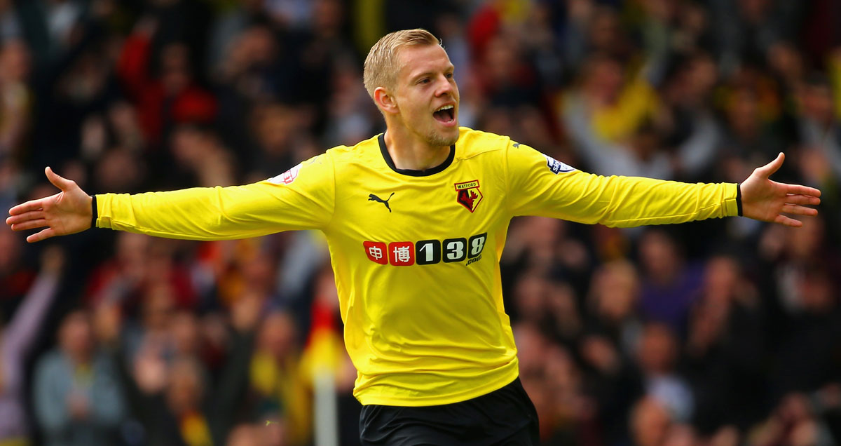 Watford have moved to sign Matej Vydra on a permanent basis