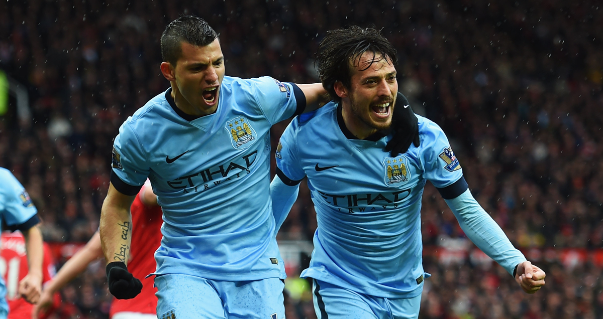 Sergio-Aguero-and-David-Silva-of-Man-City