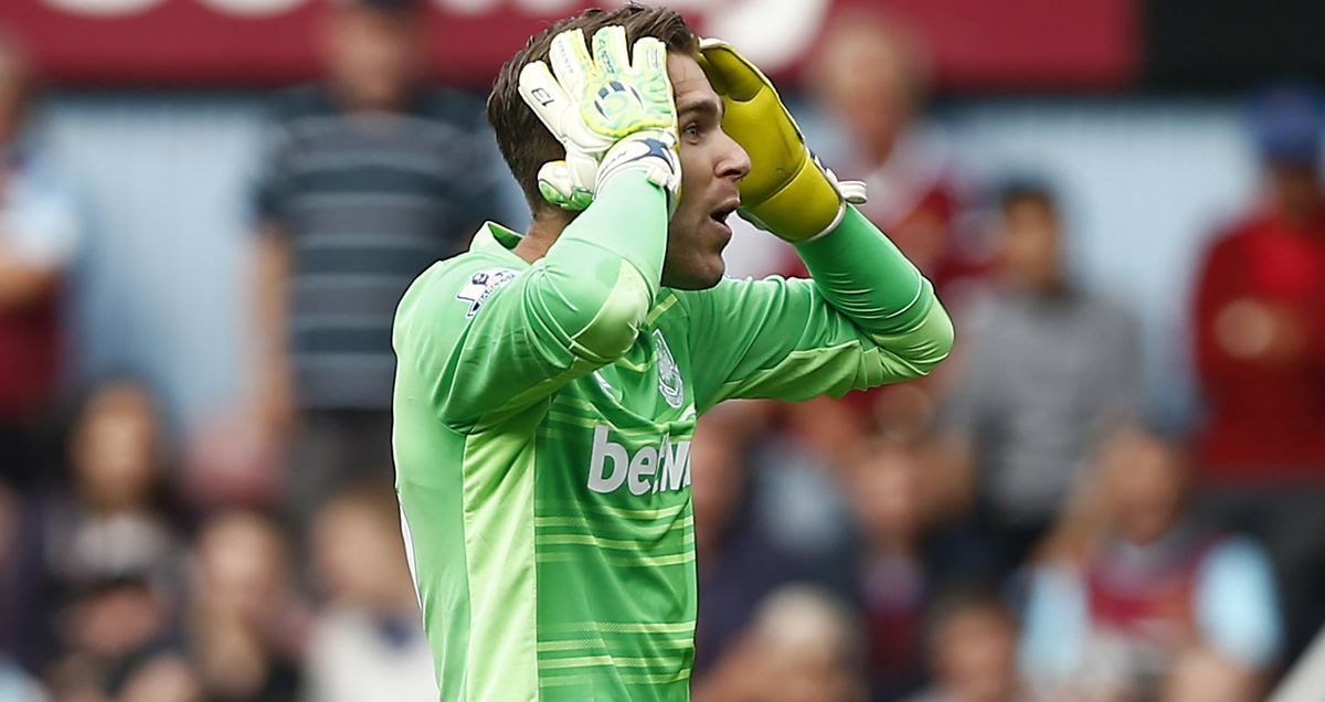 Adrian won't feature at Liverpool following his amusing sending off when joining the attack against Leicester