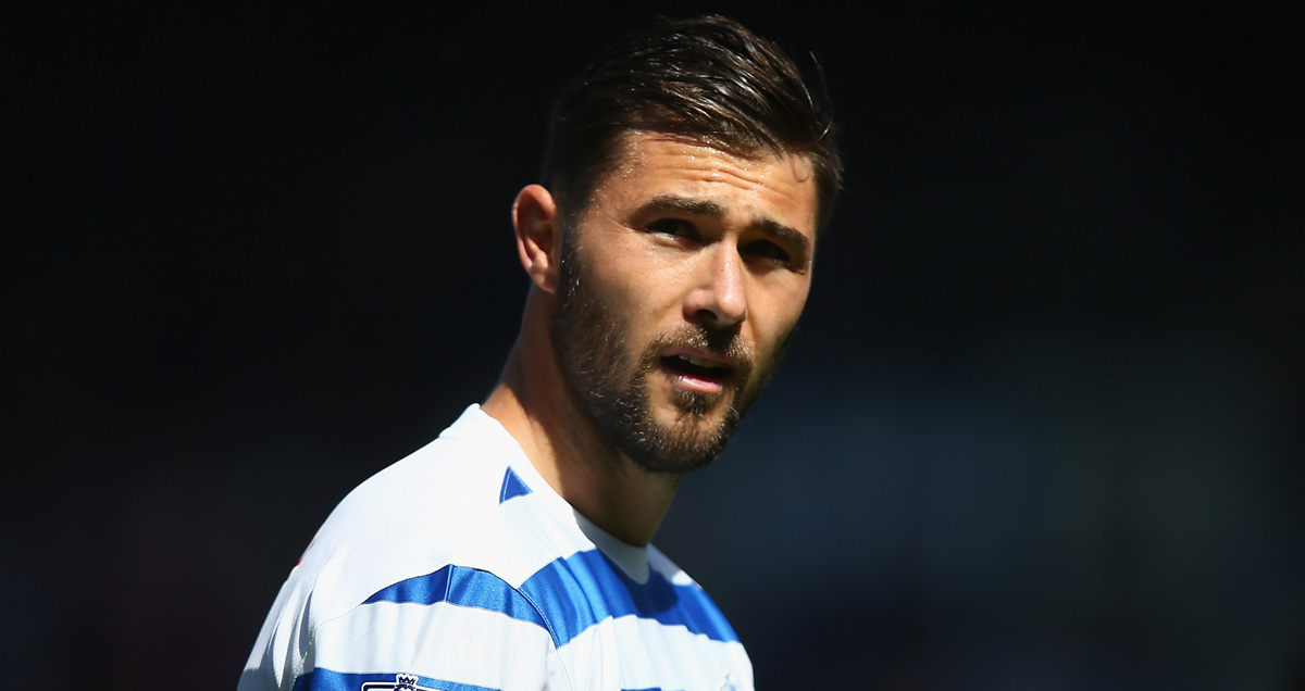 "Charlie Austin pulls his ""I can't believe I'm still at QPR in late August"" face"