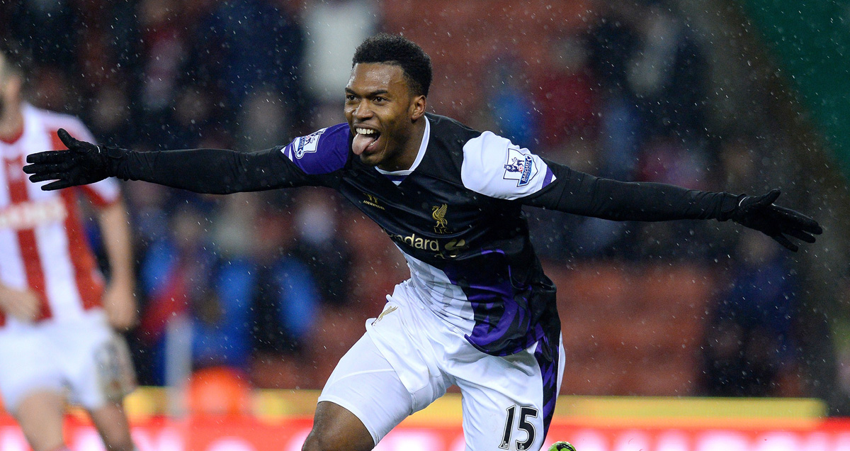 Daniel Sturridge was Liverpool's preferred 1-0smith in early 2013/14