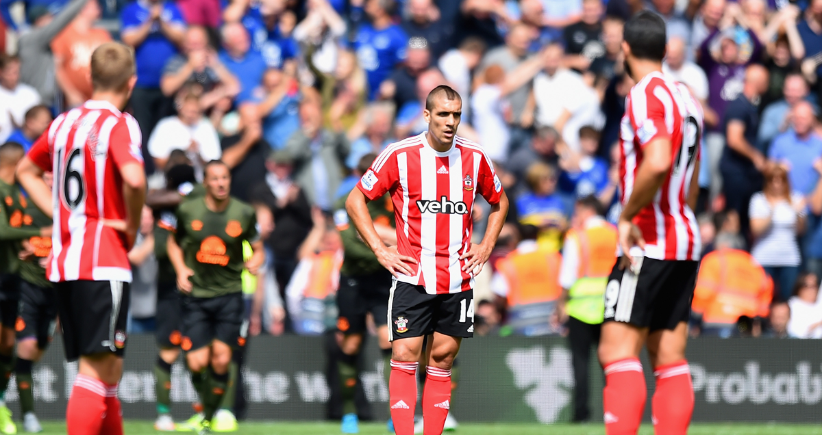 Southampton players shellshocked by Everton's whirlwind performance