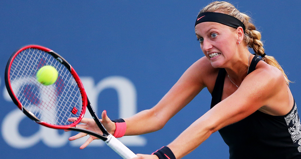 Konta's likely fourth-round adversary Petra Kvitova