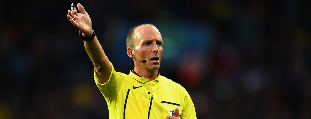 It's official! Chelsea v Arsenal farce referee tops twitter abuse survey