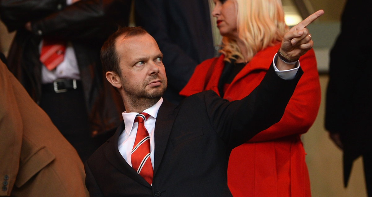 Staying Alive? Man Utd chief Executive Ed Woodward