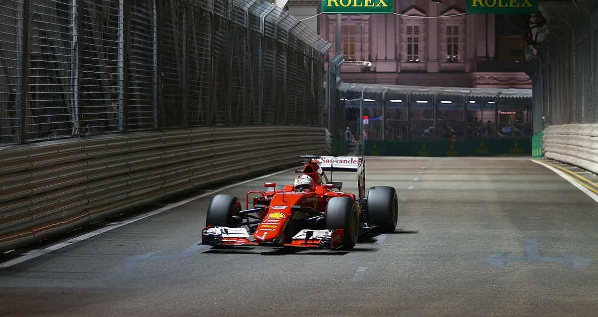 Vettel-Singapore