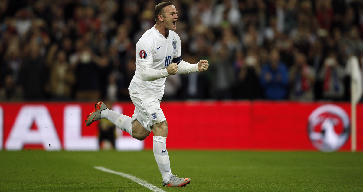 Wayne Rooney enters the record books as England's all-time top scorer