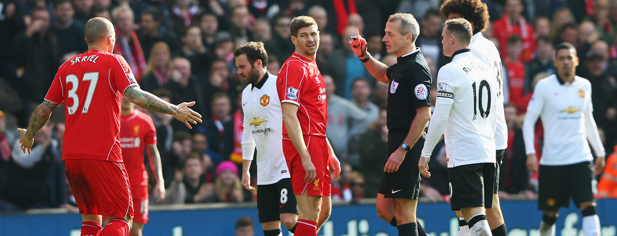 Liverpool legend's dislike of referee Atkinson logical given this stat