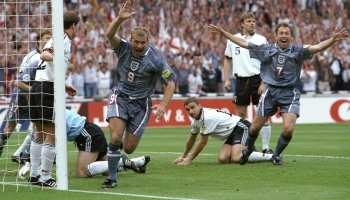 Dentist's chairs and a penalty shootout win – the story of England at Euro 1996
