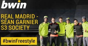 Real Madrid v Sean Garnier's S3 Freestylers