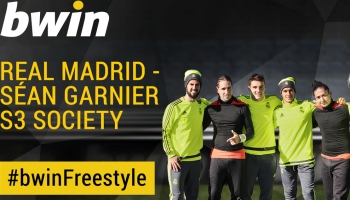 Real Madrid v Sean Garnier's S3 Freestylers