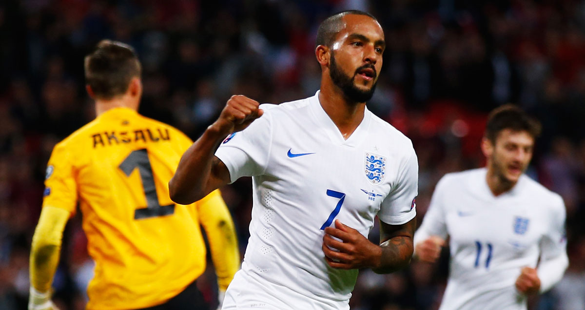 Even this England goal was not enough to convince Roy Hodgson Theo Walcott should go to the Euros