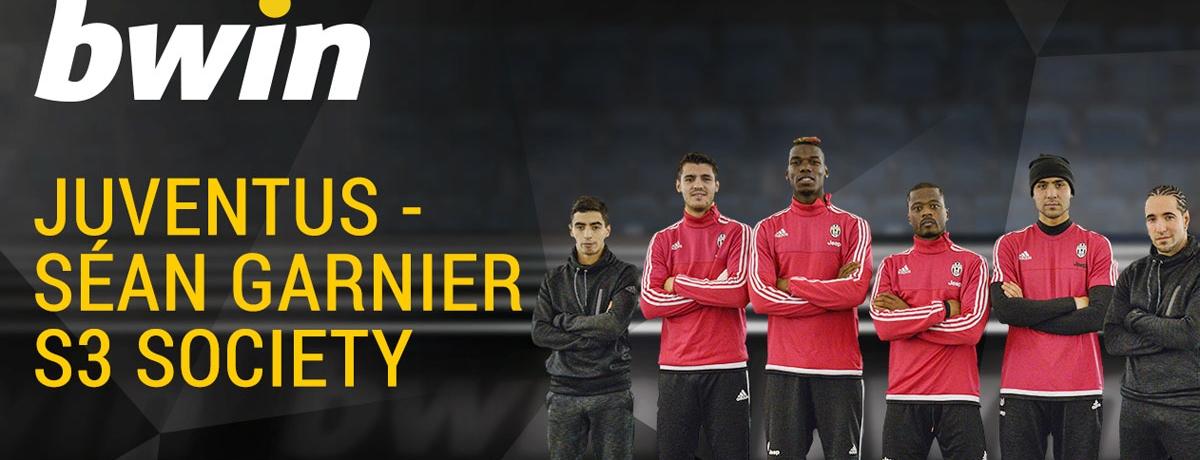 #bwinFreestyle Challenge: Juventus v Sean Garnier's S3 Society