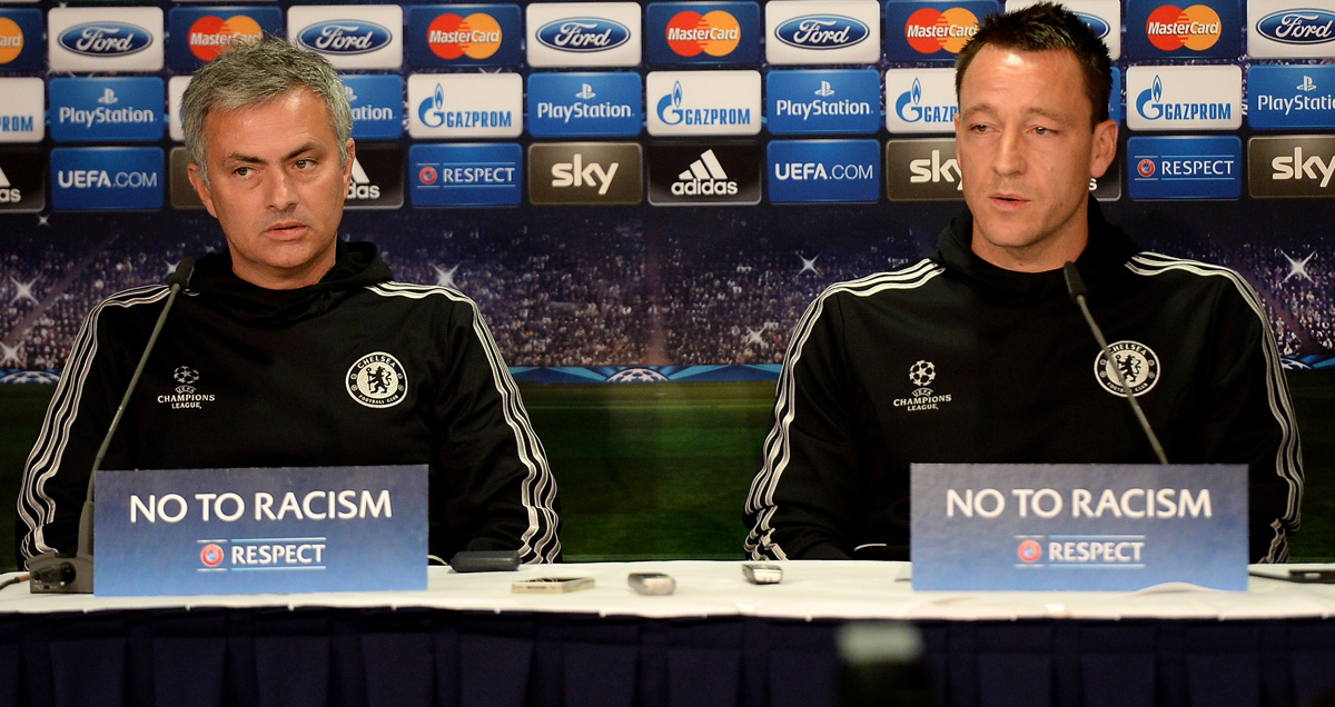 Jose Mourinho and John Terry press conference