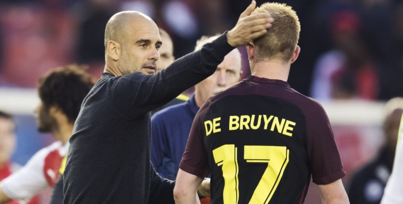 Guardiola and De Bruyne are crucial at Manchester City