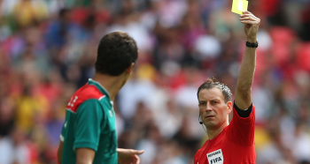 Proceed with caution? Penalties double and dissent bookings treble as refereeing directives take effect