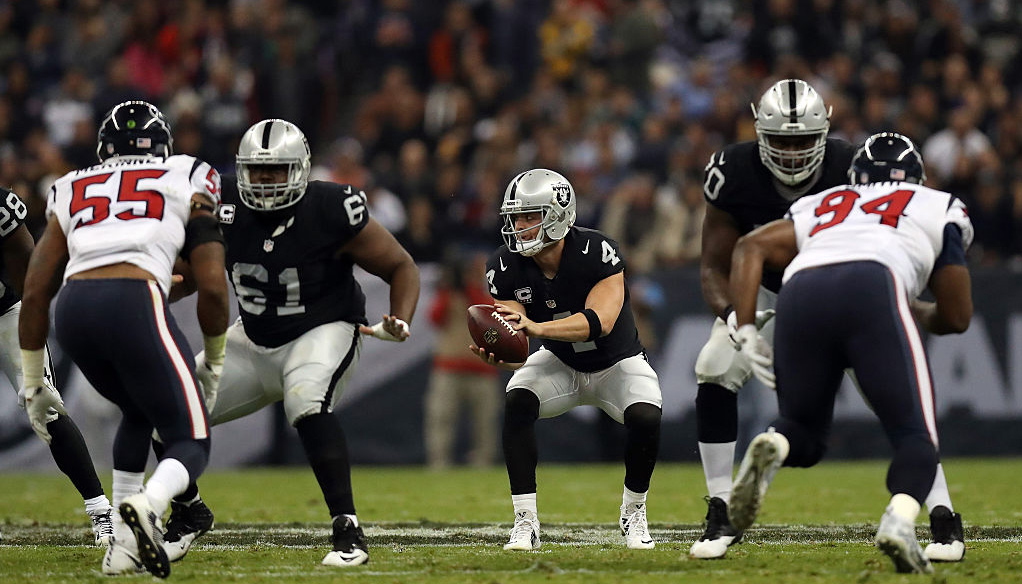 Oakland at Houston: Raiders rocked by quarterback injuries