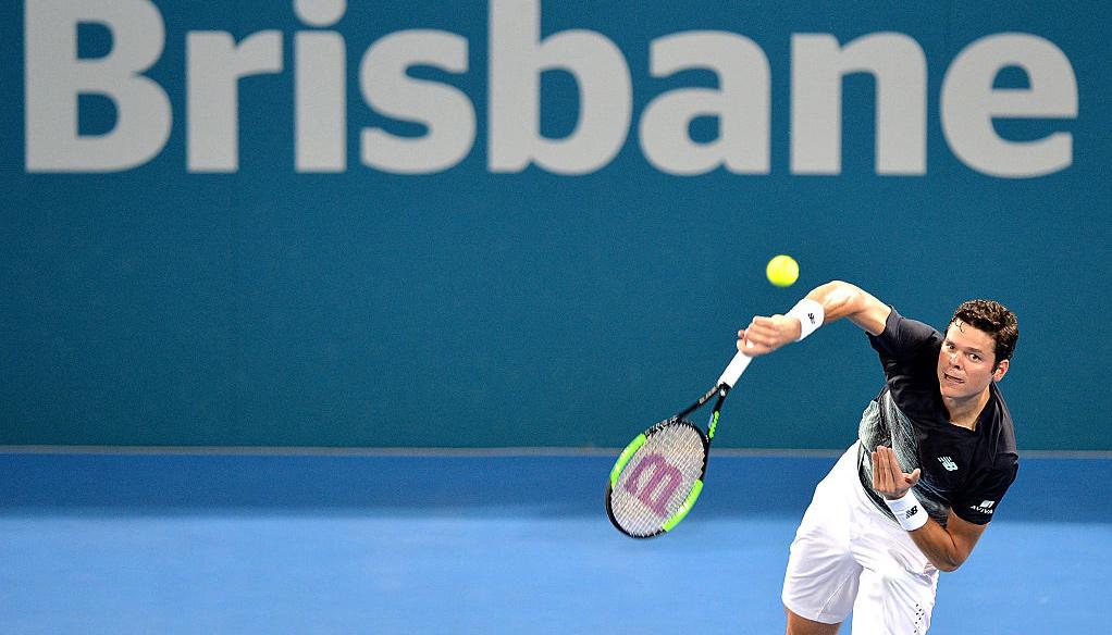 Brisbane International: Back Raonic and Nishikori in semis