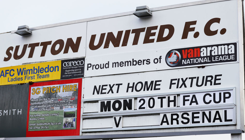 Sutton v Arsenal: Gunners to end FA Cup fairytale