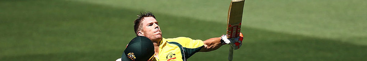 ICC Champions Trophy: Warner to lead Aussies to glory