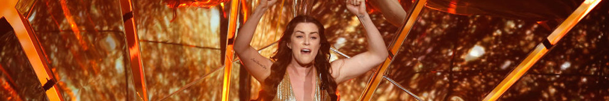 Lucie Jones out to defy Eurovision betting odds and Brexit fears