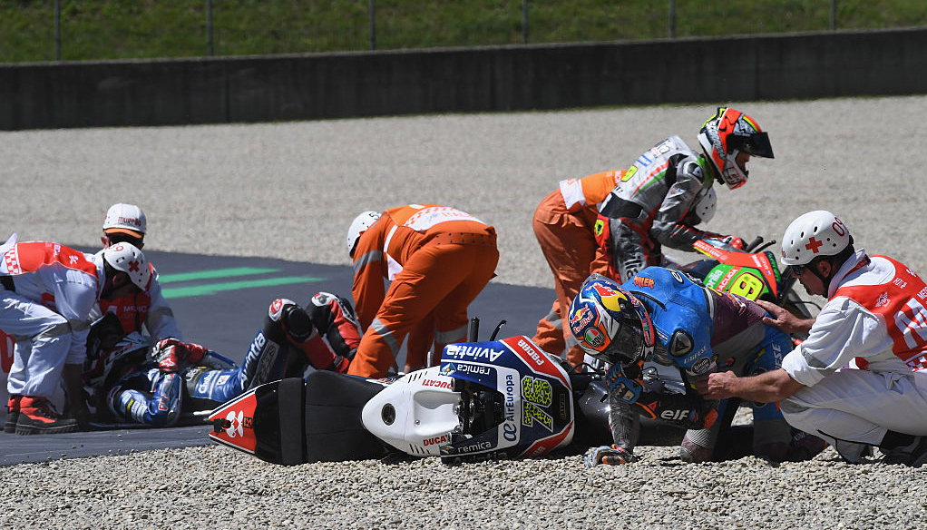 Moto GP safety and penalties