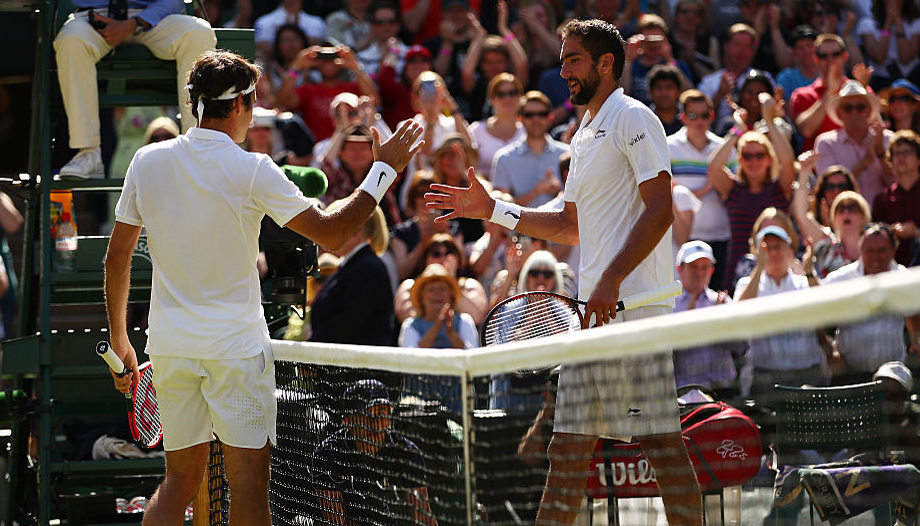 Federer vs Cilic: Men's final to go the distance