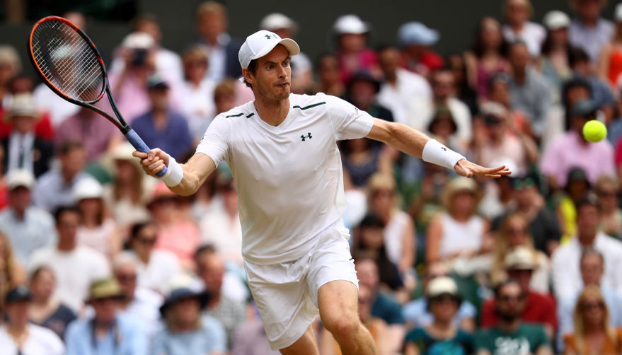 Murray vs Querrey: Champion finding his rhythm