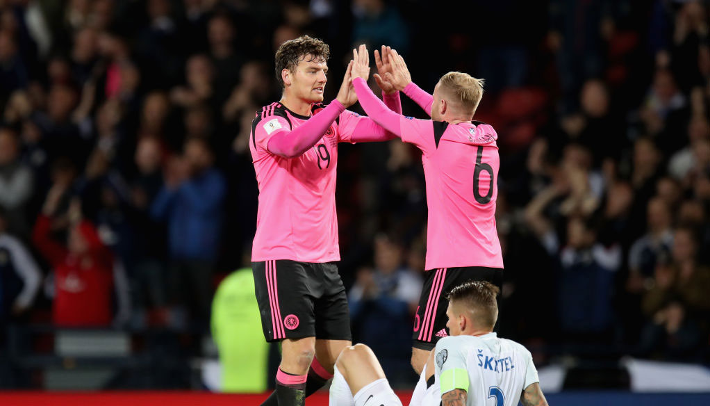Slovenia vs Scotland: Fast-finishing Scots to clinch second place