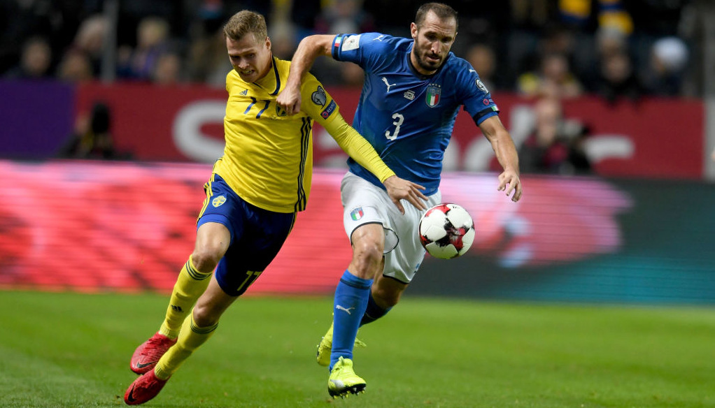 Italy vs Sweden: Azzurri can rally to claim World Cup spot