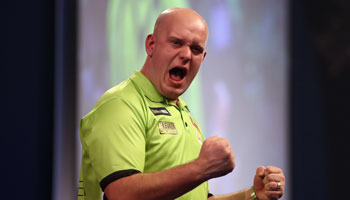 Michael van Gerwen discusses dartitis and Phil Taylor