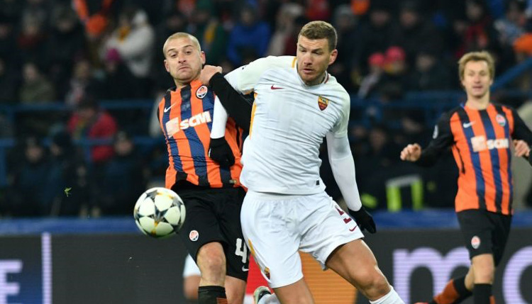 Roma vs Shakhtar Donetsk: Italians can recover on home turf