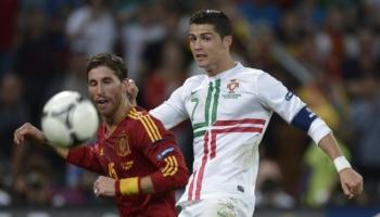 Máximos goleadores en el grupo B: Cristiano y el abanico de España