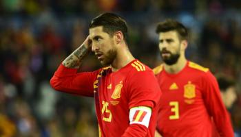 El uno por uno de España: Ramos y Piqué lideran (desde) la defensa