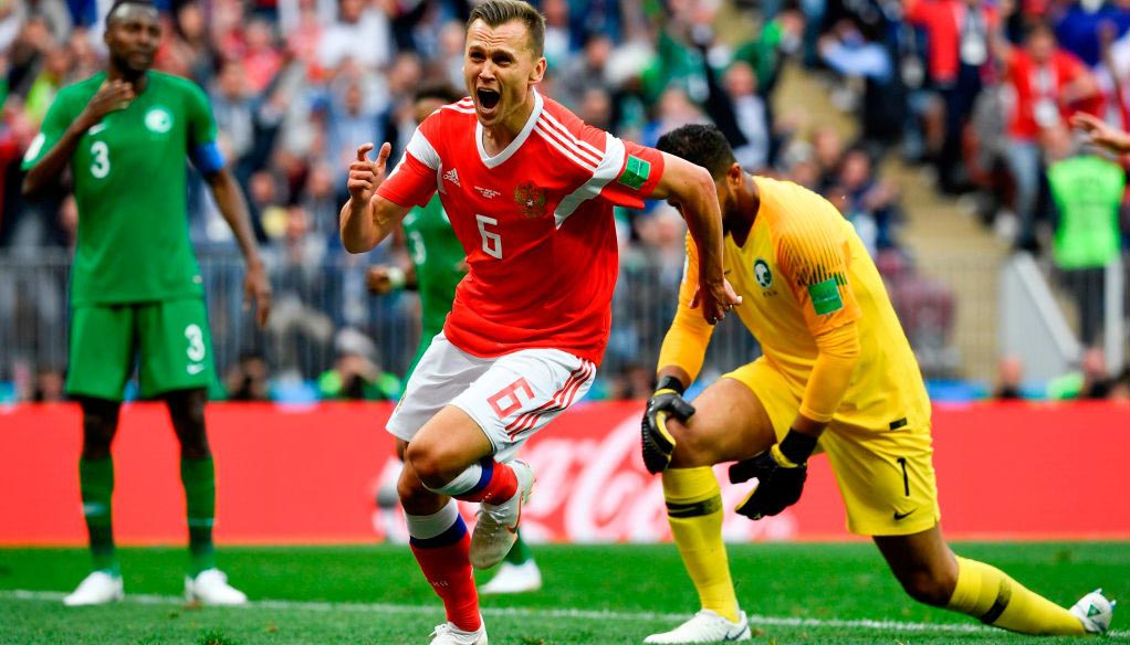 Russia vs Egypt: Hosts to settle for share of the spoils