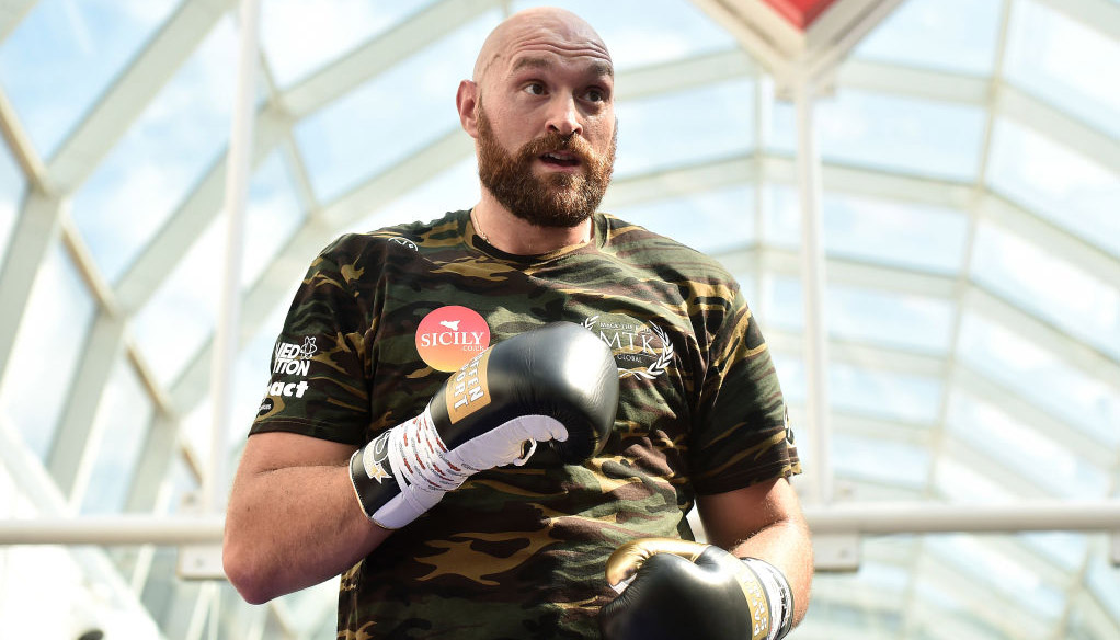 Tyson Fury vs Otto Wallin: Gypsy King to hit Swede for six