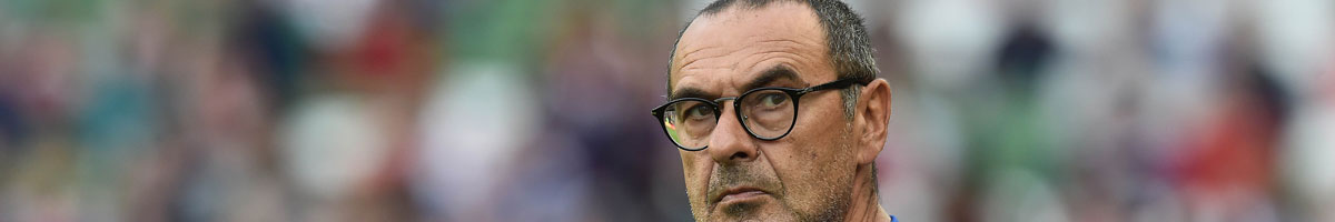 Maurizio Sarri is favourite in the Juventus next manager odds
