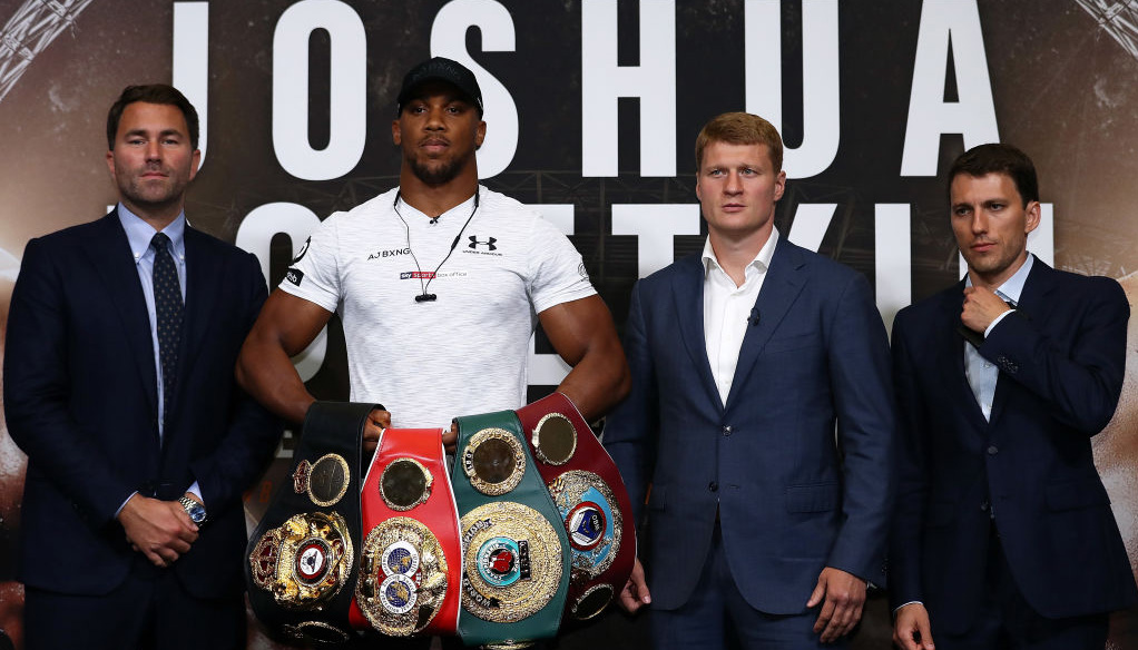 Joshua vs Povetkin: AJ to tame White Lion at Wembley