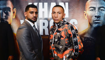 Khan vs Vargas: Briton to bide his time
