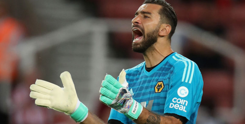 Wolves goalkeeper Rui Patricio