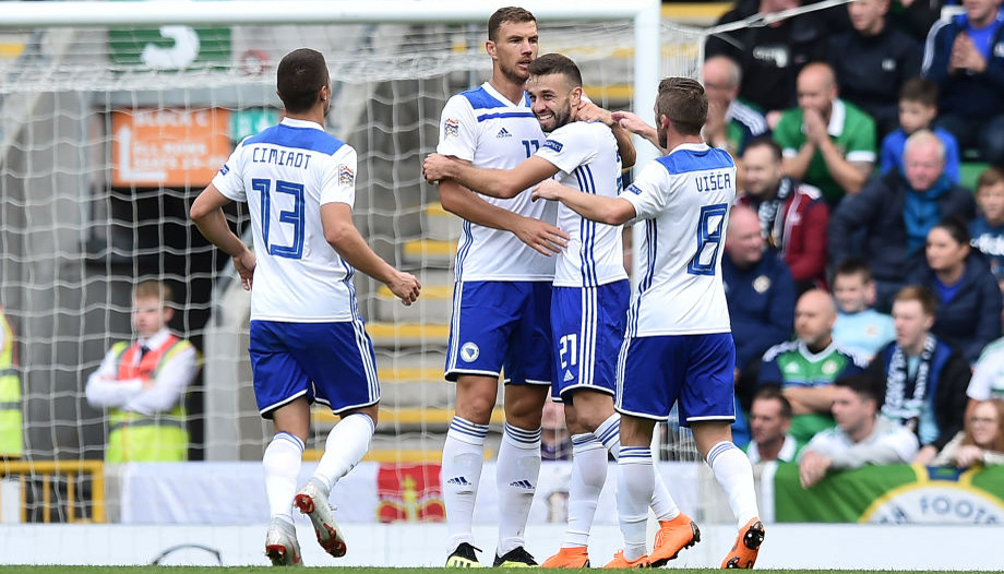 Bosnia vs Northern Ireland: Hosts to grind out victory