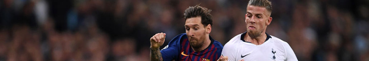 We're snapping up 35/4 for a 2-1 home win as our top Barcelona vs Tottenham prediction