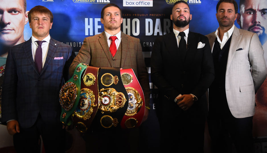 Usyk vs Bellew: Ukrainian to be just too sharp for Bomber
