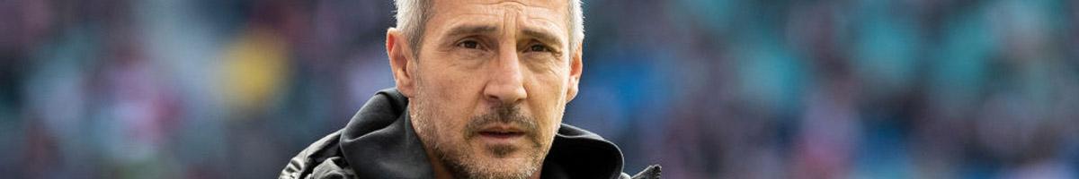 Eintracht Frankfurt boss Adi Hutter