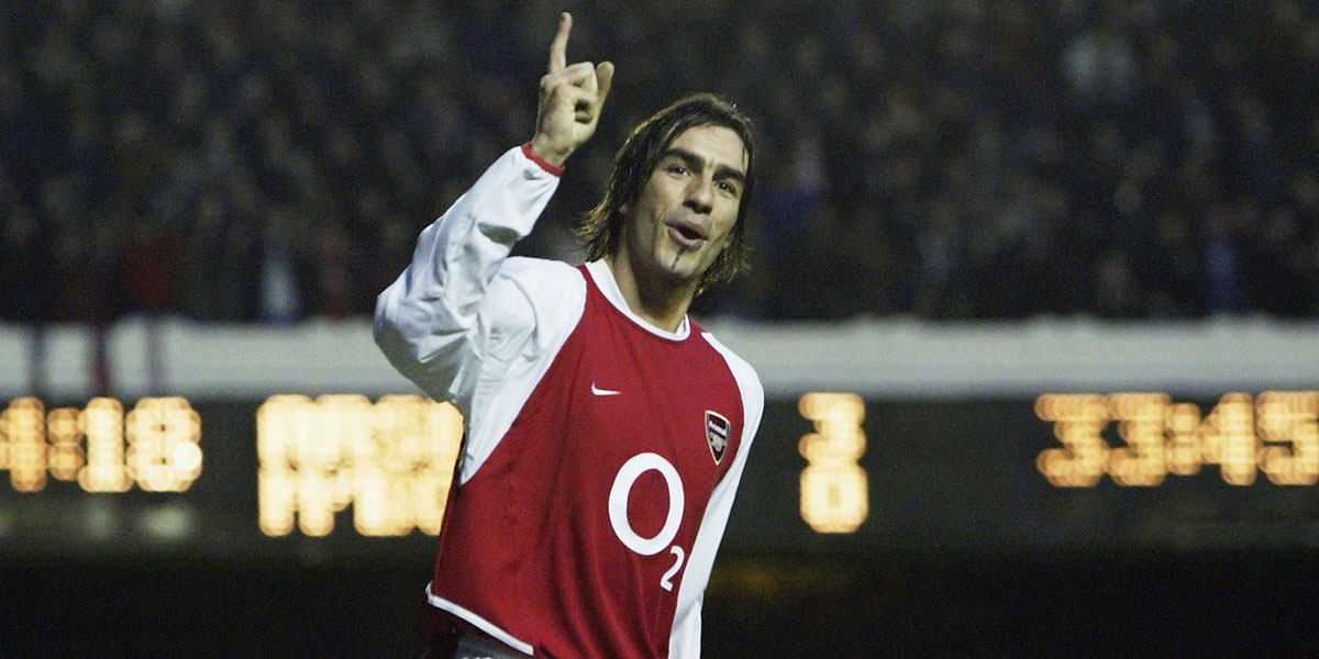 Former Arsenal winger Robert Pires