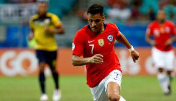 Alexis Sanchez of Chile
