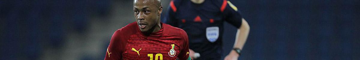 Ghana star Andre Ayew