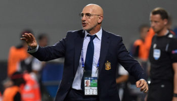 Spain U21 head coach Luis de la Fuente