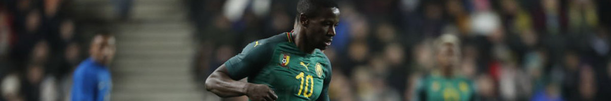 Arnaud Djoum of Cameroon
