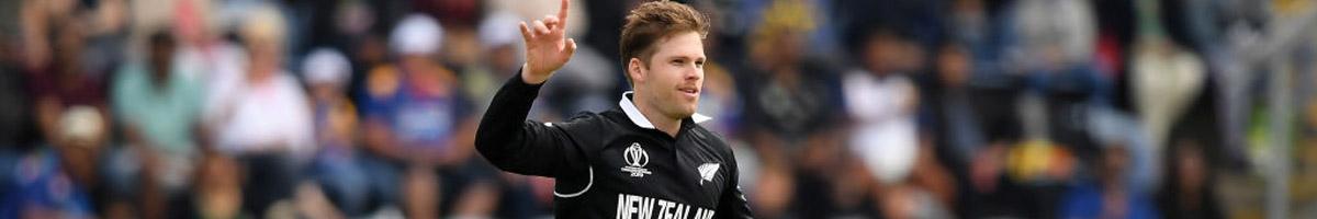 Lockie Ferguson of New Zealand